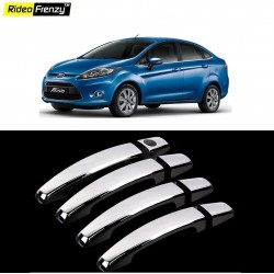 Buy Ford Fiesta Door Chrome Handle Covers online at low prices | Rideofrenzy