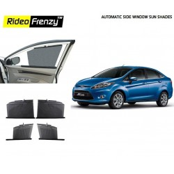 Buy New Ford Fiesta Automatic Side Window Sun Shades online at low prices-Rideofrenzy