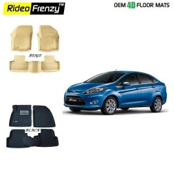 Buy Ultra Light Bucket Ford Fiesta 4D Crocodile Floor Mats online at low prices | Rideofrenzy