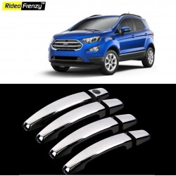 Buy Ford Ecosport Door Chrome Handle Covers online at best prices | Rideofrenzy
