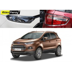 Buy Ford Ecosport Chrome Headlight+Tail Light Combo online at low prices-Rideofrenzy
