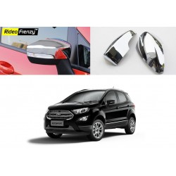 Buy Ford Ecosport Chrome Mirror Covers online at low prices-Rideofrenzy