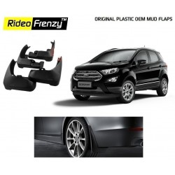 Buy Plastic OEM Ford Ecosport Mud Flaps online at low prices | Rideofrenzy