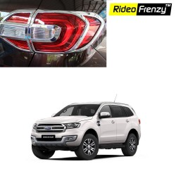 Buy Ford Endeavour Chrome Tail light Garnish online at low prices | Rideofrenzy