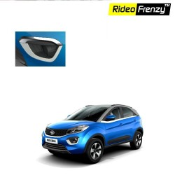 Buy Tata NEXON Chrome Fog Lamp Garnish Covers online at low prices | Rideofrenzy