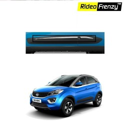 Buy Tata NEXON Chrome Side Beading Garnish Covers online at low prices | Rideofrenzy
