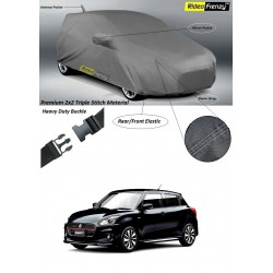 Buy Maruti Suzuki Swift 2018 Body Cover with Mirror & Antenna Pockets | Indoor Body Cover