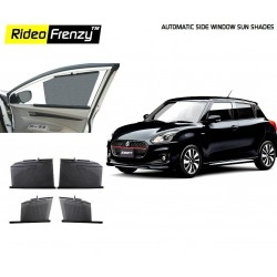 Buy Maruti Swift 2018 Automatic Side Window Curtains | UV Protected | Custom Fit