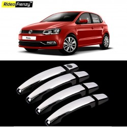 Buy Volkswagen Polo Chrome Handle Covers online at low prices | Rideofrenzy