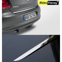 Buy Volkswagen Polo Stainless Steel Dickey Garnish online at low prices | Rideofrenzy