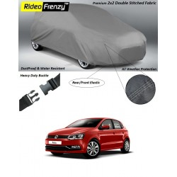 Buy Heavy Duty Volkswagen Polo Car Body Covers online at low prices | Rideofrenzy