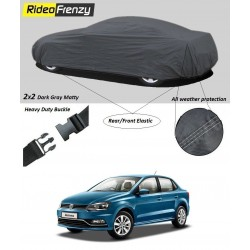 Buy Heavy Duty Volkswagen Ameo Car Body Covers online at low prices | Rideofrenzy