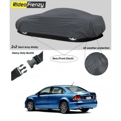 Buy Heavy Duty Volkswagen Vento Car Body Cover online at low prices | Rideofrenzy