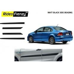 Buy Volkswagen Vento Matt Black Side Beading online at low prices | Rideofrenzy