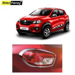 Buy Renault Kwid Chrome Tail Light Cover online at low prices | Rideofrenzy