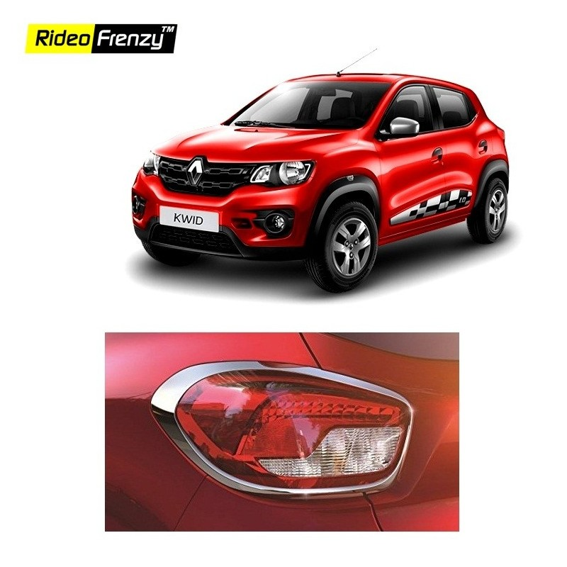 Buy Renault Kwid Chrome Tail Light Cover Online At Low Prices