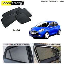 Buy Renault Pulse Magnetic Car Window Sunshades online | Rideofrenzy