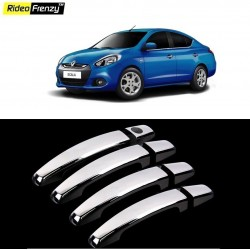 Buy Renault Scala Chrome Handle Covers online at low prices | Rideofrenzy