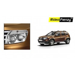 Buy Renault Duster Chrome Head Light Covers online at low prices | Rideofrenzy