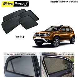 Buy Renault Duster Magnetic Car Window Sunshades online at low prices | Rideofrenzy