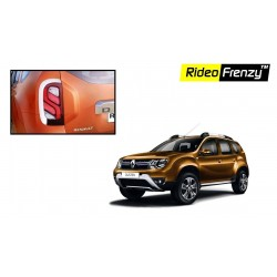 Buy New Renault Duster Chrome Tail Light Covers online | Rideofrenzy