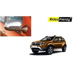 Buy New Renault Duster Chrome Mirror Garnish online at low prices | Rideofrenzy