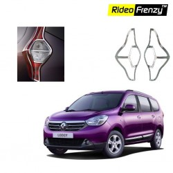 Buy Renault Lodgy Chrome Tail Light Cover online at low prices-Rideofrenzy