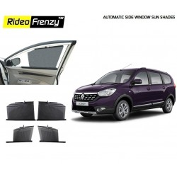 Buy Renault Lodgy Automatic Side Window Sun Shades online at low prices | Rideofrenzy