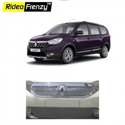 Buy Super Glossy Renault Lodgy Front Chrome Grill Covers at low prices-Rideofrenzy