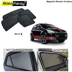 Buy Fiat Punto Magnetic Car Window Sunshade online India | Rideofrenzy