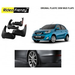 Buy Plastic OEM Nissan Micra Mud Flaps online at low prices | Rideofrenzy