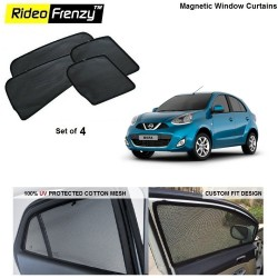 Buy Nissan Micra Magnetic Car Window Sunshades online India | Rideofrenzy