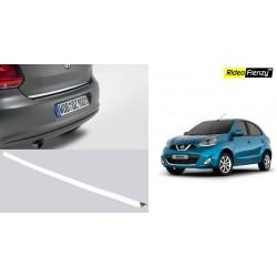Buy Nissan Micra/ Renault Pulse Chrome Dickey Garnish online   Rideofrenzy