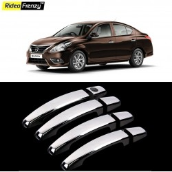 Buy Nissan Sunny Chrome Handle Covers online India | Rideofrenzy