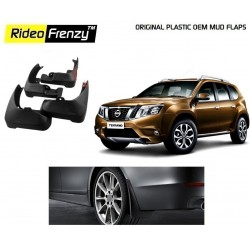 Buy Plastic OEM Nissan Terrano Mud Flaps online at low prices | Rideofrenzy