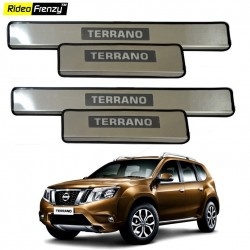 Buy Nissan Terrano Stainless Steel Sill Plates online at low prices | Rideofrenzy