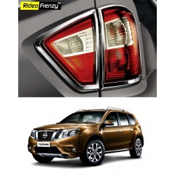 Buy Nissan Terrano Chrome Tail Light Covers online at low prices | Rideofrenzy