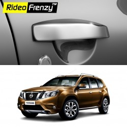 Buy Nissan Terrano Chrome Handle Covers online at low prices | Rideofrenzy