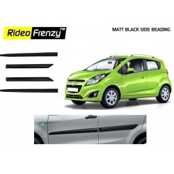 Buy Chevrolet Beat Matt Black Side Beading online at low prices | Rideofrenzy