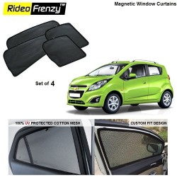 Buy Chevrolet Beat Magnetic Car Window Sunshades online |Rideofrenzy