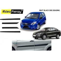 Buy Chevrolet Sail Uva/Sail Matt Black Side Beading online |Rideofrenzy