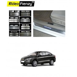 Buy Chevrolet SAIL Door Stainless Steel Sill Plates online at low prices | Rideofrenzy