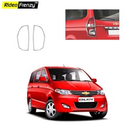 Buy Chevrolet Enjoy Chrome Tail Light Cover online at low prices | Rideofrenzy