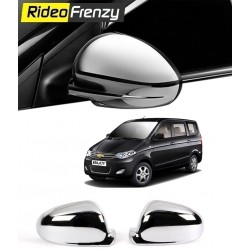 Buy Chevrolet Enjoy Chrome Mirror Covers online at low prices | Rideofrenzy