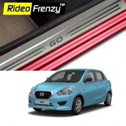 Buy Datsun Go Door Stainless Steel Sill Plates online | Rideofrenzy