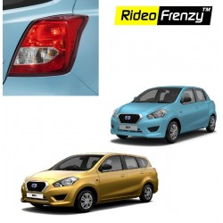 Buy Datsun Go & Go Plus Chrome Tail Light Cover online at low prices | Rideofrenzy