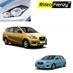 Buy Datsun Go & Go plus Chrome HeadLight Covers online at low prices | Rideofrenzy
