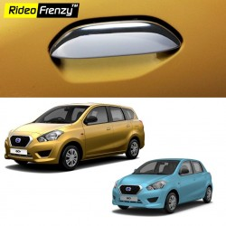 Buy Datsun Go & Go Plus Chrome Handle Covers online | Rideofrenzy
