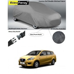 Buy Heavy Duty Datsun Go Plus Body Cover online at low prices | Rideofrenzy