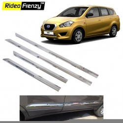Buy Datsun Go Plus Chrome Side Beading online at low prices | Rideofrenzy